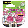 3M SO GIRLY DESIGN TAPE (24/CASE) PARTY SUPPLIES