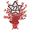 22! RED STAR CENTERPIECE PARTY SUPPLIES