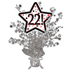 22! SILVER STAR CENTERPIECE PARTY SUPPLIES