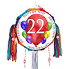 22ND BIRTHDAY BALLOON BLAST PINATA PARTY SUPPLIES