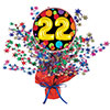 22ND BIRTHDAY BALLOON CENTERPIECE PARTY SUPPLIES