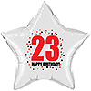 23RD BIRTHDAY STAR BALLOON PARTY SUPPLIES
