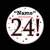 24! CUSTOMIZED BUTTON PARTY SUPPLIES