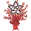 25! RED STAR CENTERPIECE PARTY SUPPLIES