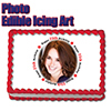 25TH BIRTHDAY PHOTO EDIBLE ICING ART PARTY SUPPLIES