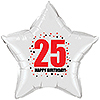 25TH BIRTHDAY STAR BALLOON PARTY SUPPLIES