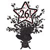 26! BLACK STAR CENTERPIECE PARTY SUPPLIES
