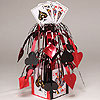 CARD NIGHT MINI MOBILE CENTERPIECE(6/CS) PARTY SUPPLIES