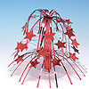 RED STAR CASCADE CENTERPIECE MINI PARTY SUPPLIES