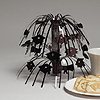 MINI BLACK GRAD CAP CENTERPIECE (8.5 IN) PARTY SUPPLIES