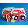 DISCONTINUED FIREFIGHTER CENTERPIECE PARTY SUPPLIES