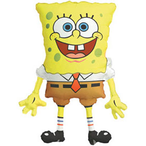 Click for larger picture of 26IN SPONGE BOB MYLAR(5/CS) PARTY SUPPLIES
