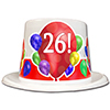 26TH BIRTHDAY BALLOON BLAST TOP HAT PARTY SUPPLIES