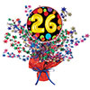 26TH BIRTHDAY BALLOON CENTERPIECE PARTY SUPPLIES