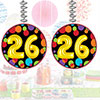 26TH BIRTHDAY BALLOON DANGLER PARTY SUPPLIES