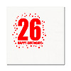 26TH BIRTHDAY LUNCHEON NAPKIN 16-PKG PARTY SUPPLIES