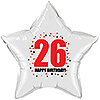 26TH BIRTHDAY STAR BALLOON PARTY SUPPLIES