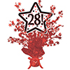 28! RED STAR CENTERPIECE PARTY SUPPLIES
