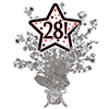 28! SILVER STAR CENTERPIECE PARTY SUPPLIES