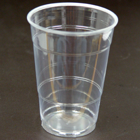 Click for larger picture of CLEAR 16OZ PLASTIC CUP (240/CS) PARTY SUPPLIES & bulk clear plastic plates cutlery party supplies - clear 16oz ...