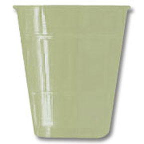 Click for larger picture of 12OZ PLASTIC SAGE GREEN PLASTIC CUP PARTY SUPPLIES
