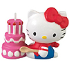 HELLO KITTY SHAPED CANDLE PARTY SUPPLIES