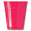 12OZ HOT PINK PLASTIC CUP (20 CT.) PARTY SUPPLIES