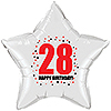 28TH BIRTHDAY STAR BALLOON PARTY SUPPLIES