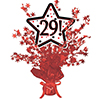 29! RED STAR CENTERPIECE PARTY SUPPLIES