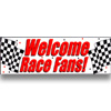 RACE FANS GIANT PARTY BANNER PARTY SUPPLIES