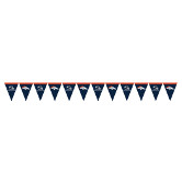DENVER BRONCOS FLAG BANNER PARTY SUPPLIES