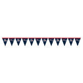 NEW ENGLAND PATRIOTS FLAG BANNER PARTY SUPPLIES