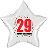 29TH BIRTHDAY STAR BALLOON PARTY SUPPLIES