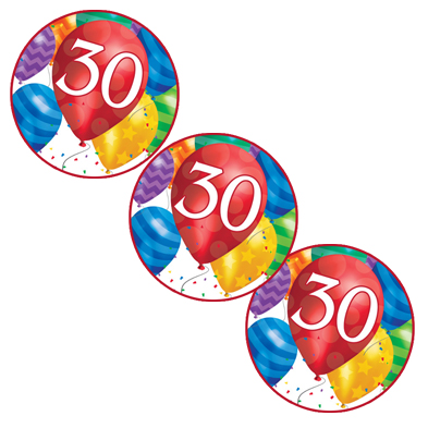 30TH BALLOON BLAST DECO FETTI PARTY SUPPLIES