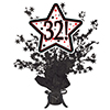 32! BLACK STAR CENTERPIECE PARTY SUPPLIES