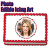 32ND BIRTHDAY PHOTO EDIBLE ICING ART PARTY SUPPLIES