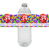 34TH BALLOON BLAST WATER BOTTLE LABEL PARTY SUPPLIES