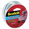 3M CLEAR PACKAGING TAPE ROLL (12/CASE) PARTY SUPPLIES