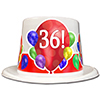36TH BIRTHDAY BALLOON BLAST TOP HAT PARTY SUPPLIES