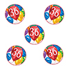 36TH BIRTHDAY BALLOON BLAST DECO FETTI PARTY SUPPLIES