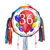 36TH BIRTHDAY BALLOON BLAST PINATA PARTY SUPPLIES