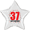 37TH BIRTHDAY STAR BALLOON PARTY SUPPLIES