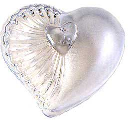 Click for larger picture of DISCONTINUED CLEAR HEART FAVOR BOX PARTY SUPPLIES