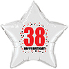 38TH BIRTHDAY STAR BALLOON PARTY SUPPLIES