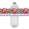 39TH BALLOON BLAST WATER BOTTLE LABEL PARTY SUPPLIES
