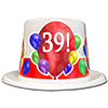 39TH BIRTHDAY BALLOON BLAST TOP HAT PARTY SUPPLIES