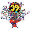 39TH BIRTHDAY BALLOON CENTERPIECE PARTY SUPPLIES