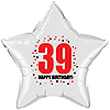 39TH BIRTHDAY STAR BALLOON PARTY SUPPLIES