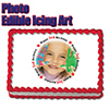 3RD BIRTHDAY PHOTO EDIBLE ICING ART PARTY SUPPLIES