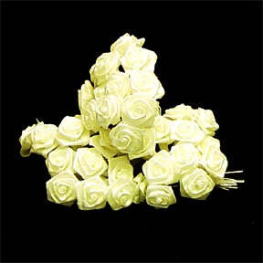 Click for larger picture of WHITE ROSE MED PARTY SUPPLIES